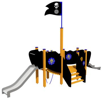 Piratksipet Fancy, standard