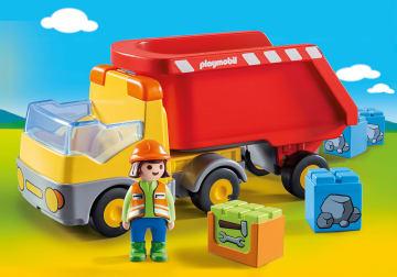 Playmobil lastebil