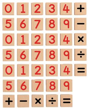 Magnetiske tall i tre, 40 deler