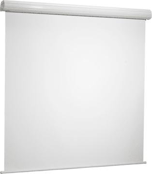 Lerret manuell Diplomat hvit matt  200 X 200 cm