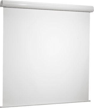 Lerret manuell Diplomat hvit matt  220 X 220 cm