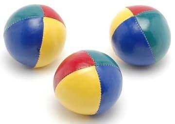 Sjongleringsballer 3 stk.