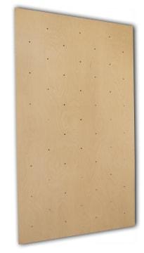 Klatreplate innendørs  240x120 cm, lys kryssfinér