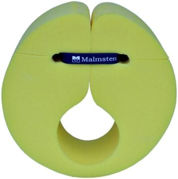 Svømmevinge skum - Gul  135 x 197 x Ø60 mm (Ø50mm invendig)