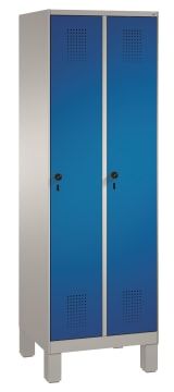 Garderobeskap 2 søyler  MÅL B-H-D 610x1850x500 mm.