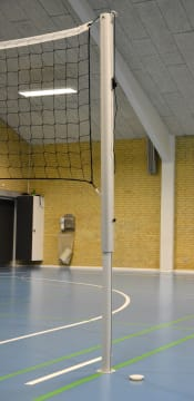 Kids Volley Nettstolper  Ø63 H: 155/220