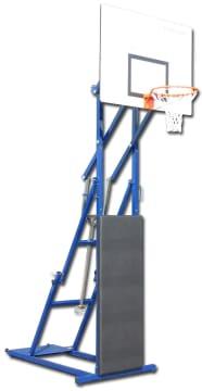 Basketstativ med hjul  Stålkonstruksjon