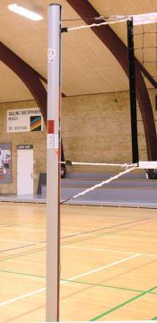 Volleyball nettstolper  Liga DVV II/TÜV Ø105 mm