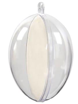 Deko egg, H:6,3cm, 5 stk