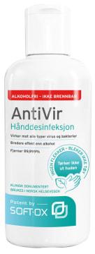 AntiVir Alkoholfri hånddesinfeksjon, 250 ml