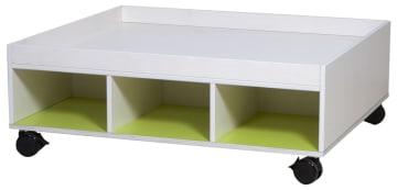 Smarty lekebord med 3+3 rom