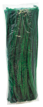 Piperensere Ø6mm, 30 cm. Grønn. 100 stk.
