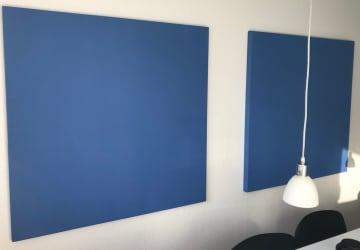 DecoDemp soft akustikk, med Fijistoff. pris pr.m2