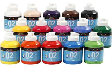 A-Color matt akrylmaling, 500 ml