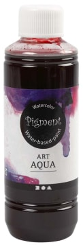 Art Aqua Pigment, 250 ml, rød
