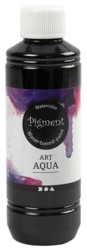 Art Aqua Pigment, 250 ml, sort