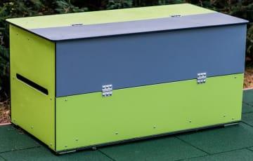 Oppbevaringskasse, vedlikeholdsfri