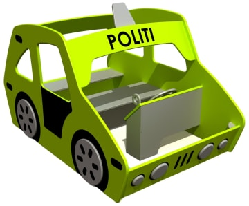 Politibil, vedlikeholdsfri