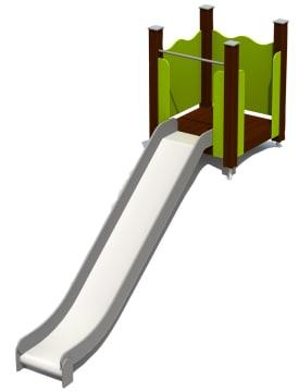 Terrengsklie m/plattform 3,27 m Vedlikeholdsfri