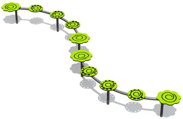 Spiral balansebom medium
