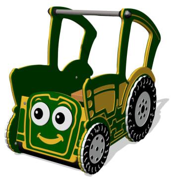 Traktoren Toby, for de minste