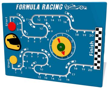 Aktivitetsvegg, formula racing