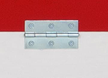 Hengsel inkl skruer til vegghengt bord