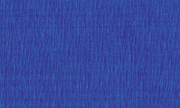 Kreppapir, Farge Blå. 50 cm x 2,5 m. 10ark. 32g/m2