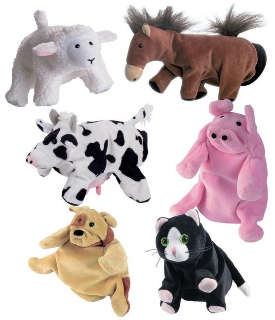 hånddukker dyr