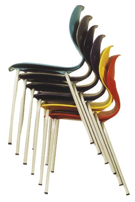 Rio stol, sort msort understell. Sittehøyde 45 cm Milas.no