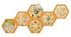Veggspill bikube, sett med alle 6 spill