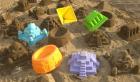 Sandformer, monumenter, 5 stk. ass.