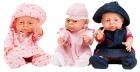 Dukkeklær 40-45 cm, jente. sett 1