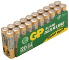 Batteri GP Super Alkalisk AAA/LR3 (20)