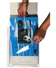 Plastlomme A4 (25pk) ekspanderende med klaff