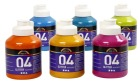 A-Color akrylmaling, 6x500 ml, paletter