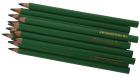 Trekantede fargeblyanter, 12stk, grønn