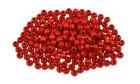 Treperler, D:5mm, hull:1,5mm, 6 g, rød
