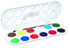 Maleskrin med 12 farger Ø30mm og pensel