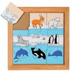 Puslespill, Arktiske dyr