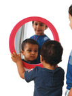 Rundt speil m/eva ramme