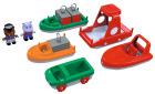 Aquaplay båtsett, 10 deler
