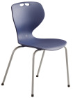 Rio stol, blå m/grått understell