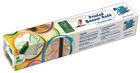Selvklebende papir m/motiv, 30 cm.x 4 m. konkreter, 6 stk
