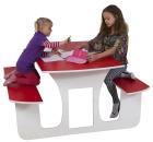 Multifunksjonsbord, barnehagestørrelse, 140 cm.