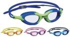 Svømmebriller fun jr.  Blå/grønn - silikon