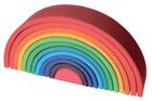 Regnbue i beiset treverk, 12 deler