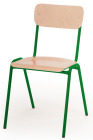 Voksenstolen Per 43 cm, grønn understell