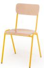 Voksenstolen Per 43 cm, gult understell