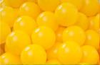 Baller til ballbasseng, Ø6 cm, gule, 500 stk